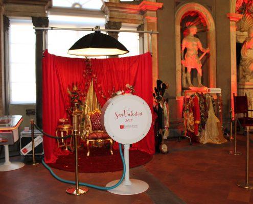 Set Photo Booth personalizzato in stile barocco